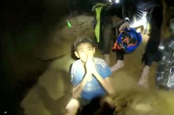 fotografias del rescate de los ninos en tailandia 2