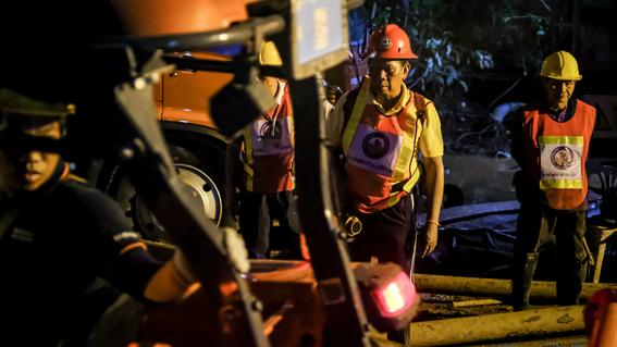 fotografias del rescate de los ninos en tailandia 4