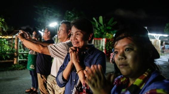 fotografias del rescate de los ninos en tailandia 5