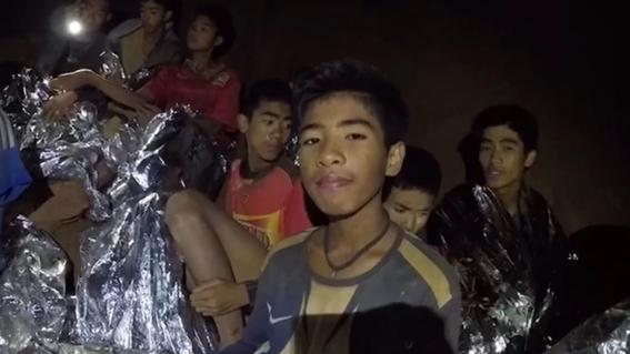 fotografias del rescate de los ninos en tailandia 9
