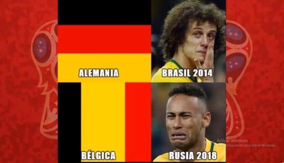 memes del partido de francia y belgica 1