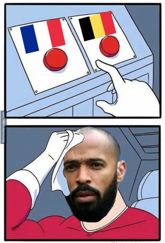 memes del partido de francia y belgica 4
