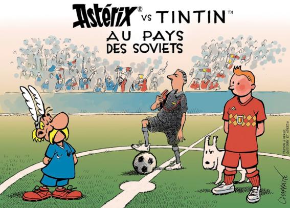 memes del partido de francia y belgica 5