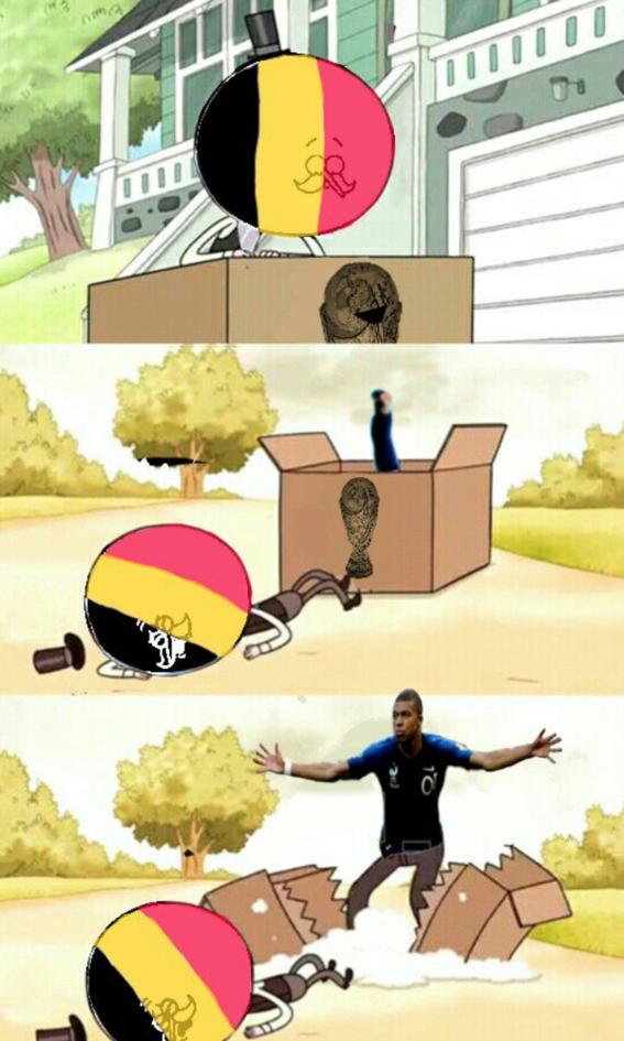 memes del partido de francia y belgica 9