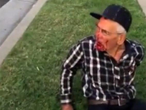 donan 260 mil dolares a anciano golpeado en eua 1