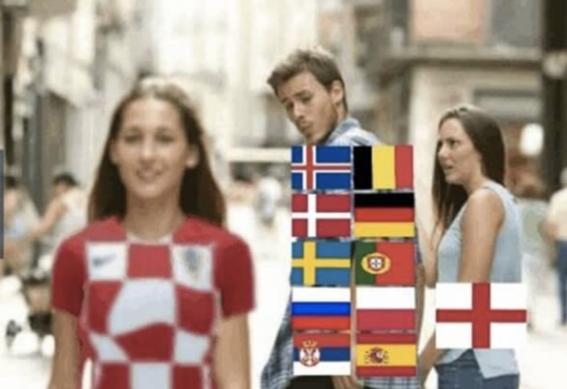 memes del partido inglaterra vs croacia 3