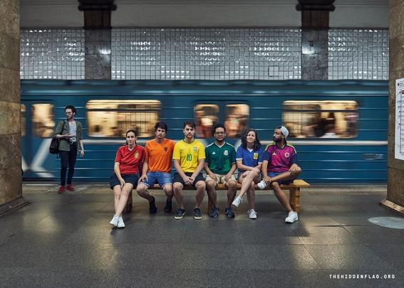 bandera gay humana mejor protesta en rusia 1