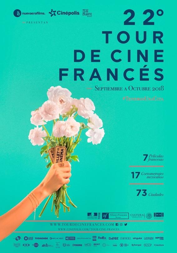 22 edicion del tour de cine frances 2018 2