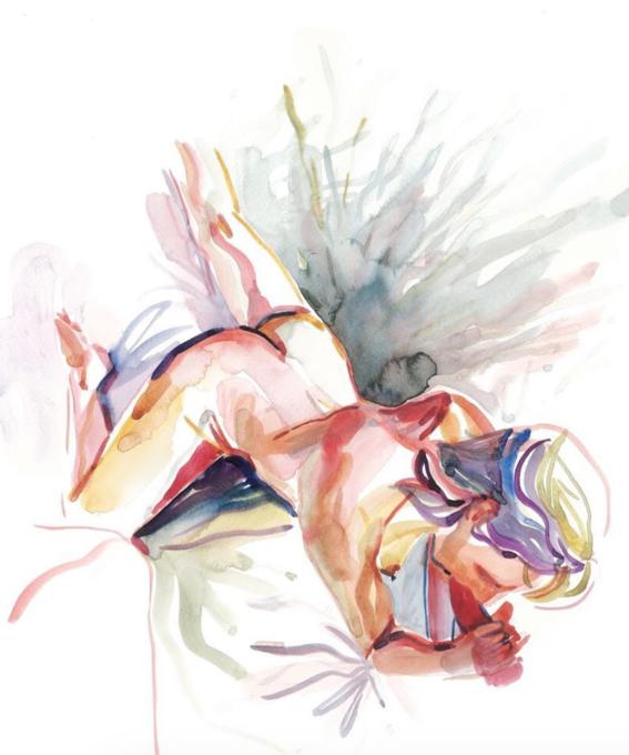 pinturas de watercolor porn para ideas mas creativas en el sexo 2