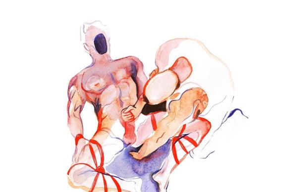 pinturas de watercolor porn para ideas mas creativas en el sexo 3