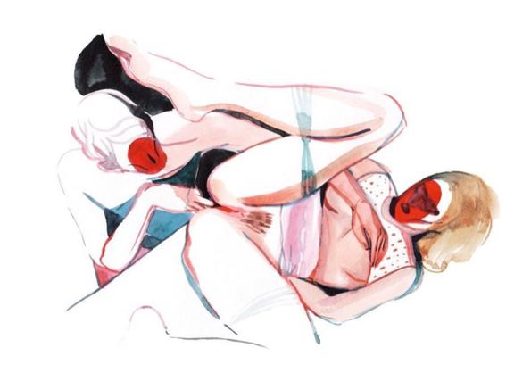 pinturas de watercolor porn para ideas mas creativas en el sexo 4