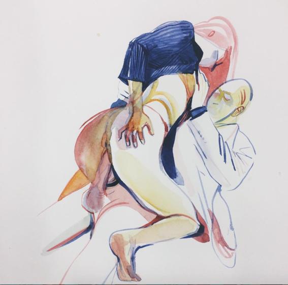 pinturas de watercolor porn para ideas mas creativas en el sexo 5