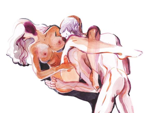 pinturas de watercolor porn para ideas mas creativas en el sexo 9