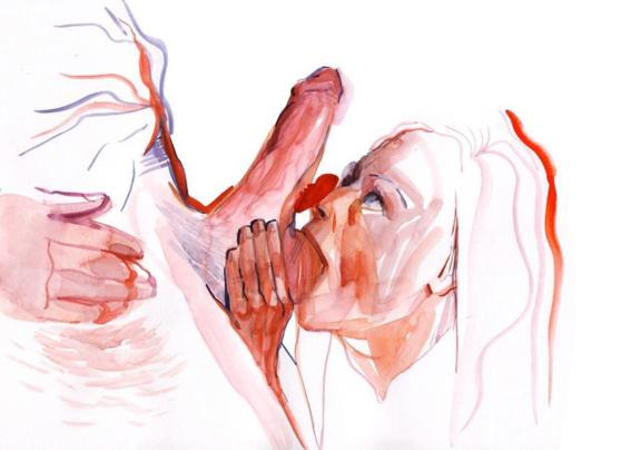 pinturas de watercolor porn para ideas mas creativas en el sexo 12