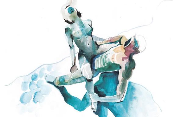 pinturas de watercolor porn para ideas mas creativas en el sexo 15