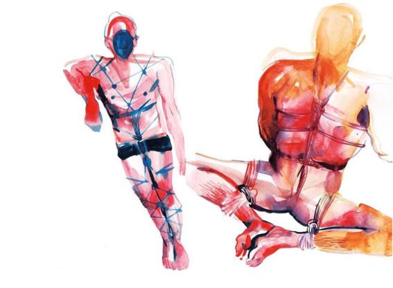 pinturas de watercolor porn para ideas mas creativas en el sexo 16