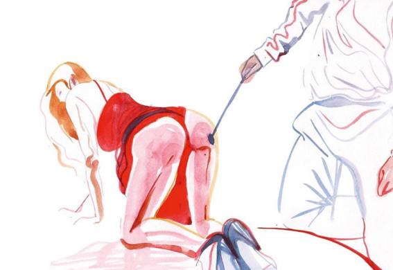 pinturas de watercolor porn para ideas mas creativas en el sexo 21