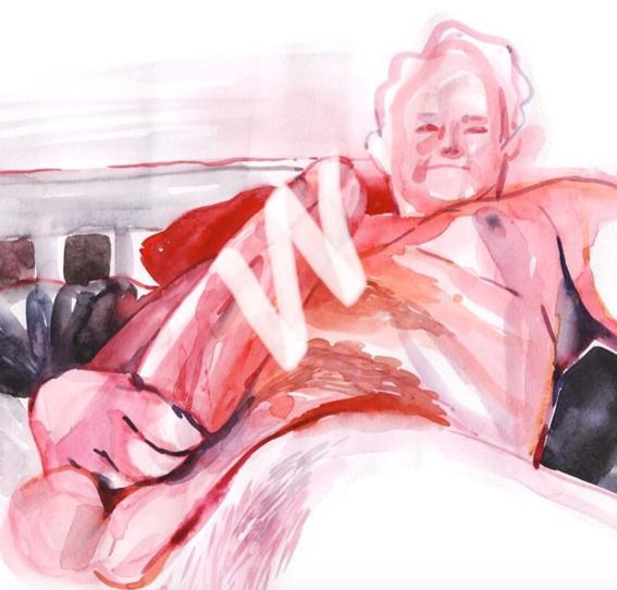 pinturas de watercolor porn para ideas mas creativas en el sexo 27