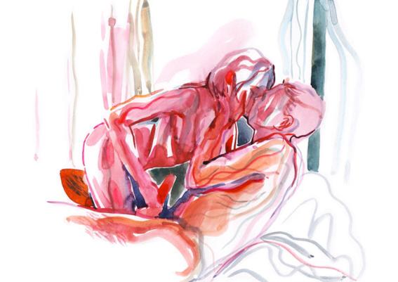 pinturas de watercolor porn para ideas mas creativas en el sexo 29