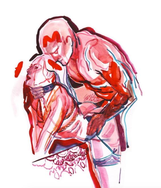 pinturas de watercolor porn para ideas mas creativas en el sexo 30