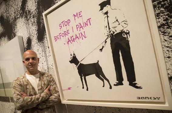 galeria de londres vende una obra de bansky por 16 millones de euros 1