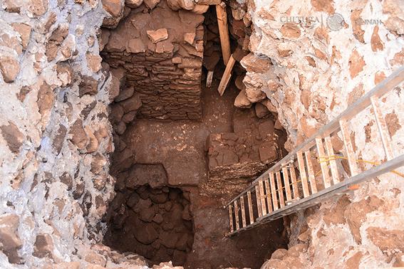 la piramide que aparecio con el terremoto del 19s y que pudo inspirar el estilo del templo mayor 3
