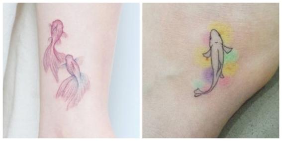 tatuajes de peces koi y su significado 1