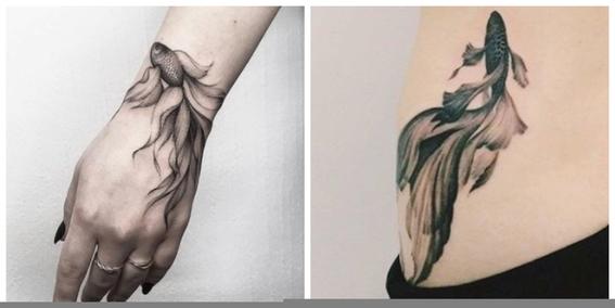 tatuajes de peces koi y su significado 3