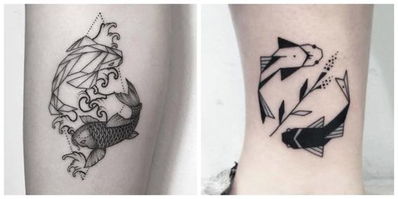 tatuajes de peces koi y su significado 7