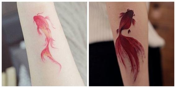 tatuajes de peces koi y su significado 10