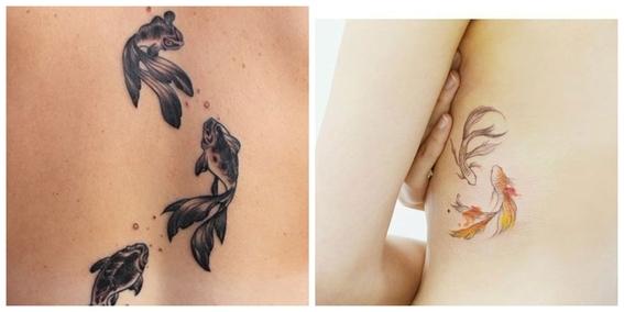 tatuajes de peces koi y su significado 12