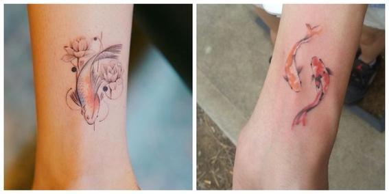 tatuajes de peces koi y su significado 13