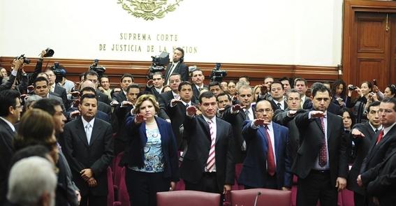 familiares 500 jueces magistrados en la nomina del gobierno 1