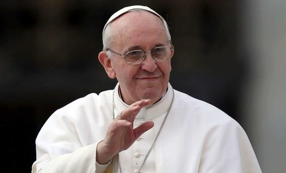 papa no participara en foros de paz de amlo 2