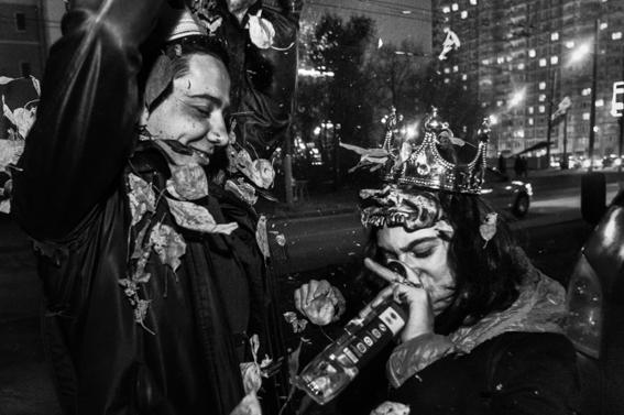 fotografias de arnold veber de un rave en rusia 1