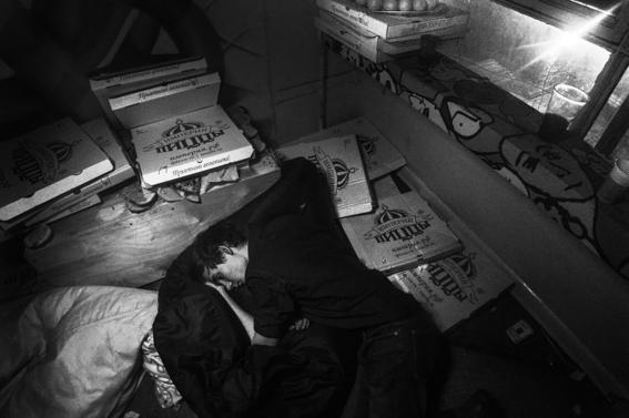 fotografias de arnold veber de un rave en rusia 7