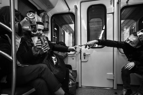 fotografias de arnold veber de un rave en rusia 9