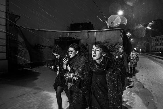 fotografias de arnold veber de un rave en rusia 10