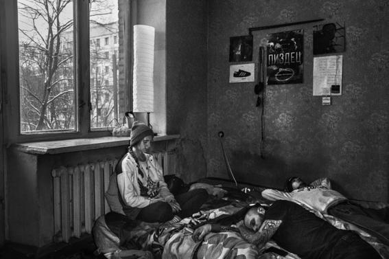 fotografias de arnold veber de un rave en rusia 15