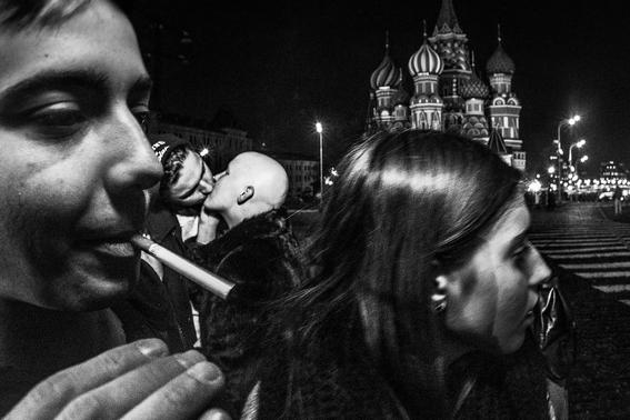fotografias de arnold veber de un rave en rusia 17