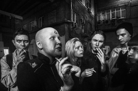 fotografias de arnold veber de un rave en rusia 21