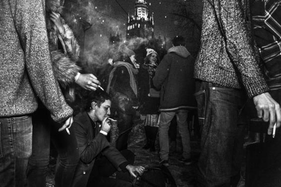 fotografias de arnold veber de un rave en rusia 25
