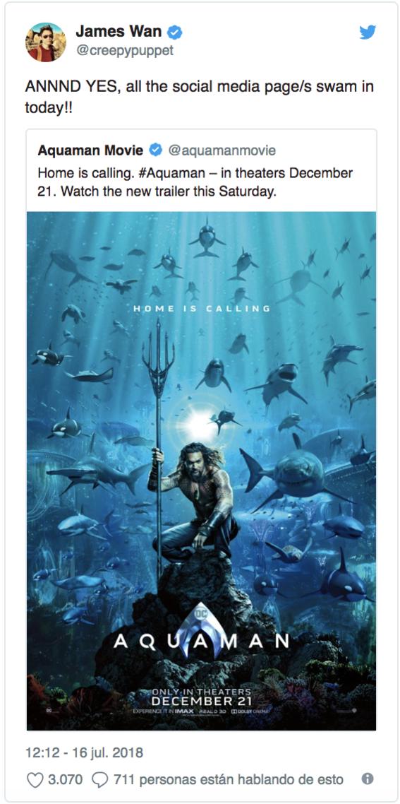 nueva pelicula de aquaman ya tiene nuevo poster 1