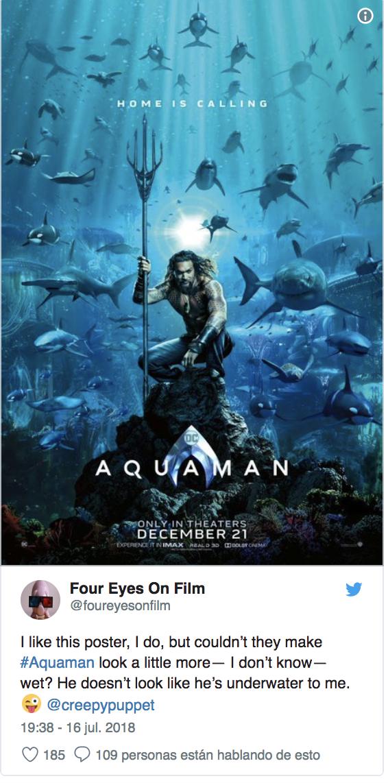 nueva pelicula de aquaman ya tiene nuevo poster 2
