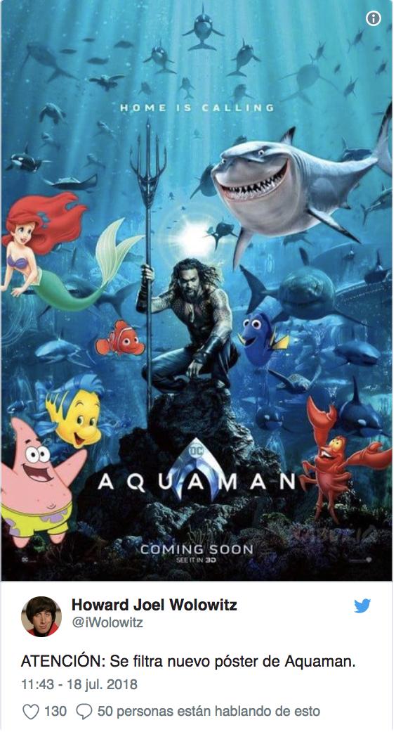 nueva pelicula de aquaman ya tiene nuevo poster 3