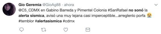 por que no sonaron las alarmas sismicas en la cdmx 19 julio 2