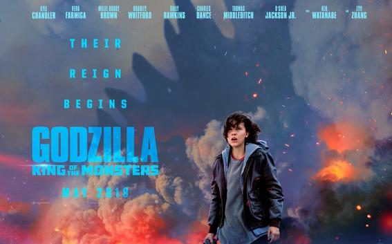 nuevo avance del trailer de godzilla king of the monsters 1