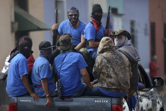 crisis politica y muertos en nicaragua 3
