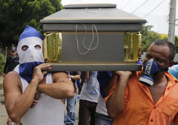 crisis politica y muertos en nicaragua 4
