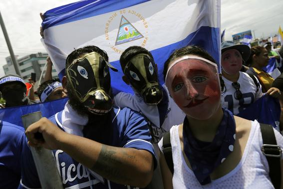 crisis politica y muertos en nicaragua 6
